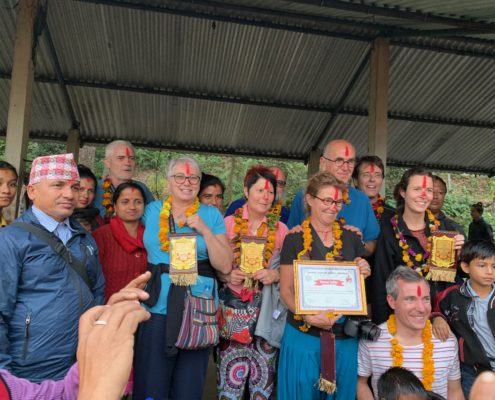 Remerciements Népalais